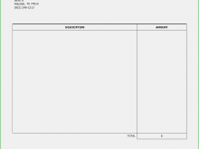 78 Report Blank Contractor Invoice Template Now with Blank Contractor Invoice Template