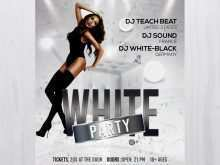 78 Standard Black And White Party Flyer Template Photo by Black And White Party Flyer Template