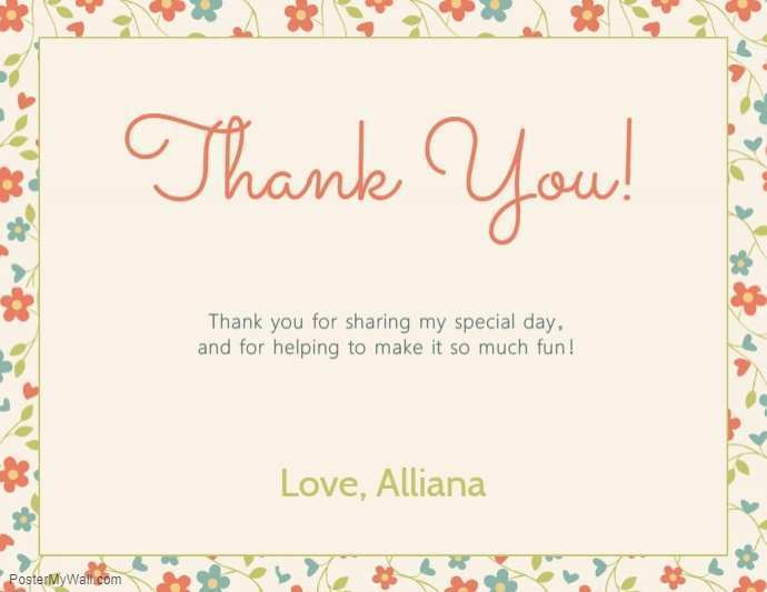 78 The Best Thank You Card Template Images in Word for Thank You Card Template Images
