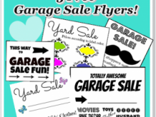 79 Adding Garage Sale Flyer Template Formating with Garage Sale Flyer Template