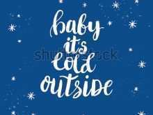 79 Baby Christmas Card Template Formating for Baby Christmas Card Template