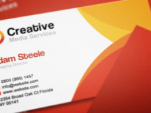 Business Card Template Indesign File