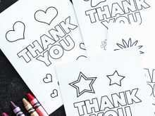 Thank You Card Design Template Free