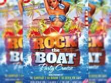 79 Creating Boat Party Flyer Template Psd Free in Photoshop with Boat Party Flyer Template Psd Free