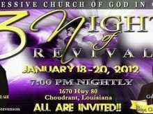 79 Creating Church Revival Flyer Template PSD File with Church Revival Flyer Template