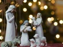 79 Creative Christmas Card Nativity Templates Now with Christmas Card Nativity Templates