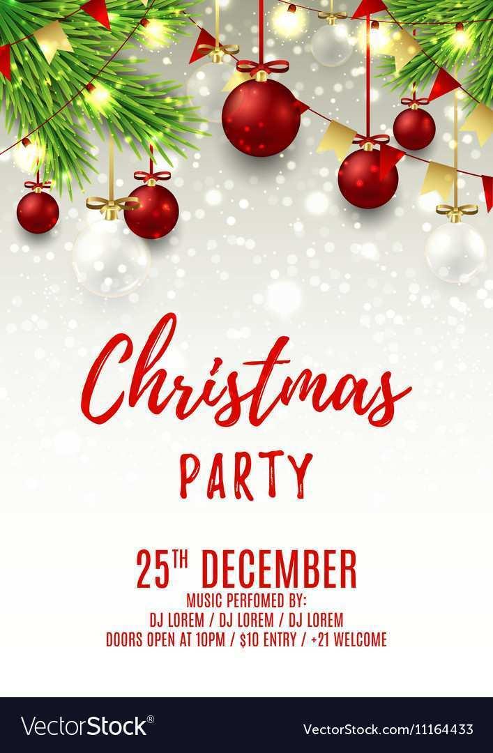 79 Creative Christmas Party Flyer Templates Templates with Christmas Party Flyer Templates