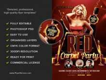 79 Creative Red Carpet Flyer Template Free Maker by Red Carpet Flyer Template Free