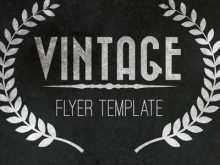 79 Creative Vintage Flyer Template Now with Vintage Flyer Template