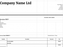 79 Customize Our Free Invoice Template Uk With Stunning Design with Invoice Template Uk