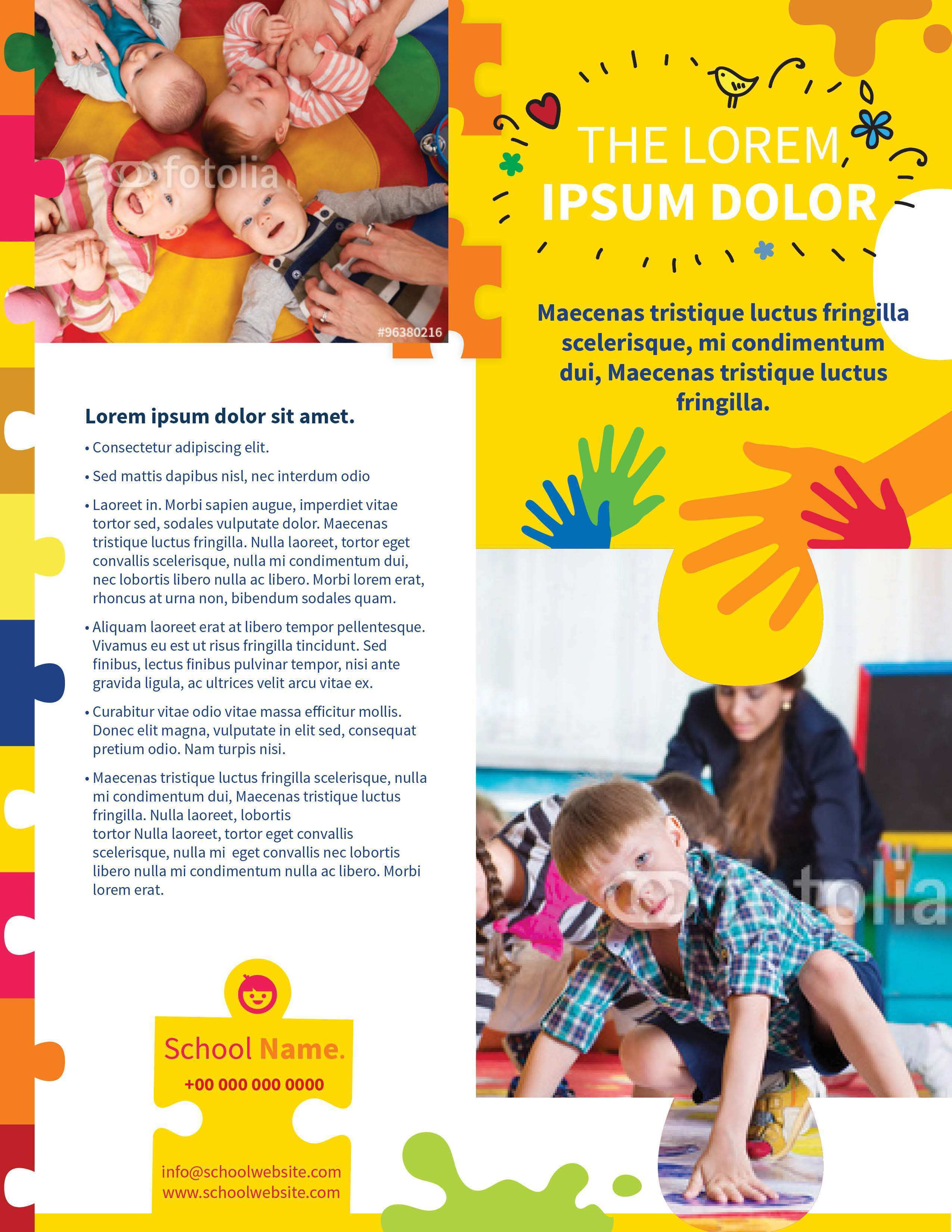 79 Format Daycare Flyer Templates Formating with Daycare Flyer Templates