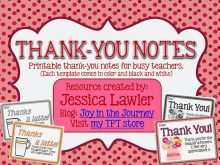 79 Format Thank You Card Template For Students for Ms Word with Thank You Card Template For Students
