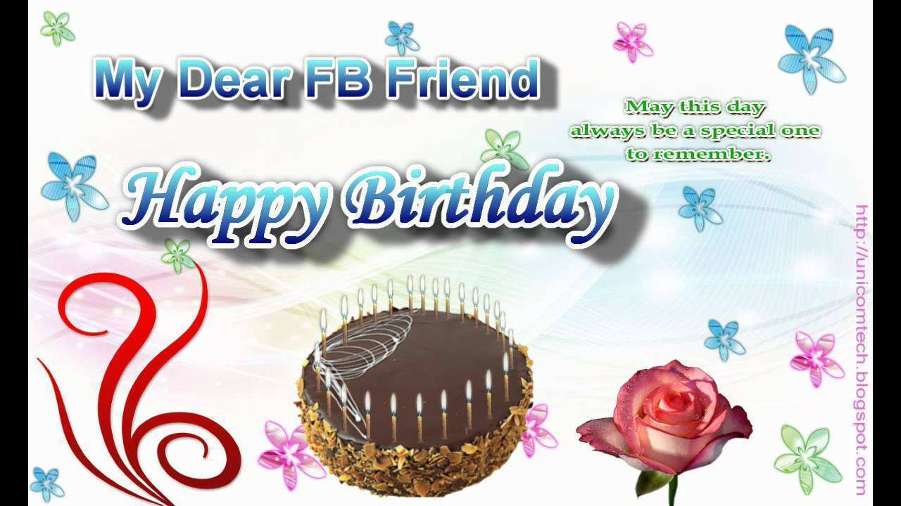 79 Free Happy B Day Card Templates Youtube Now by Happy B Day Card Templates Youtube