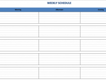 79 Free Printable Yearly Class Schedule Template Maker by Yearly Class Schedule Template