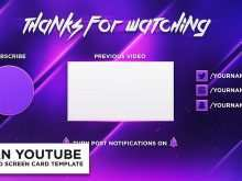79 Free Soon Card Templates Youtube Layouts with Soon Card Templates Youtube
