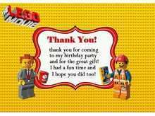 79 Lego Thank You Card Template Download with Lego Thank You Card Template