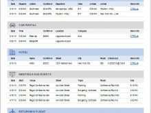79 Online 4 Day Travel Itinerary Template Download for 4 Day Travel Itinerary Template