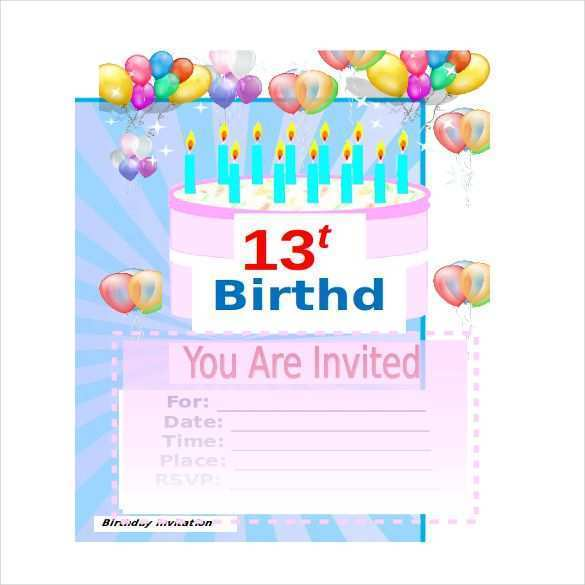 79 Online Birthday Card Template Excel Now with Birthday Card Template Excel