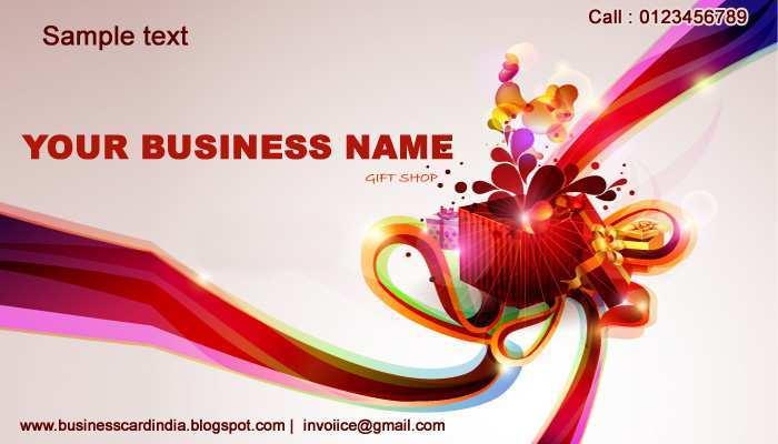 79 Printable Business Card Design Templates India in Photoshop with Business Card Design Templates India