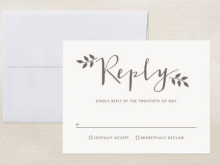 79 Standard Invitation Card Rsvp Sample Layouts with Invitation Card Rsvp Sample