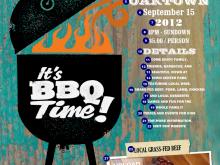 79 The Best Bbq Fundraiser Flyer Template Templates by Bbq Fundraiser Flyer Template