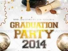 79 The Best Graduation Party Flyer Template in Photoshop for Graduation Party Flyer Template