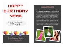 80 Adding Birthday Card Template For Him with Birthday Card Template For Him