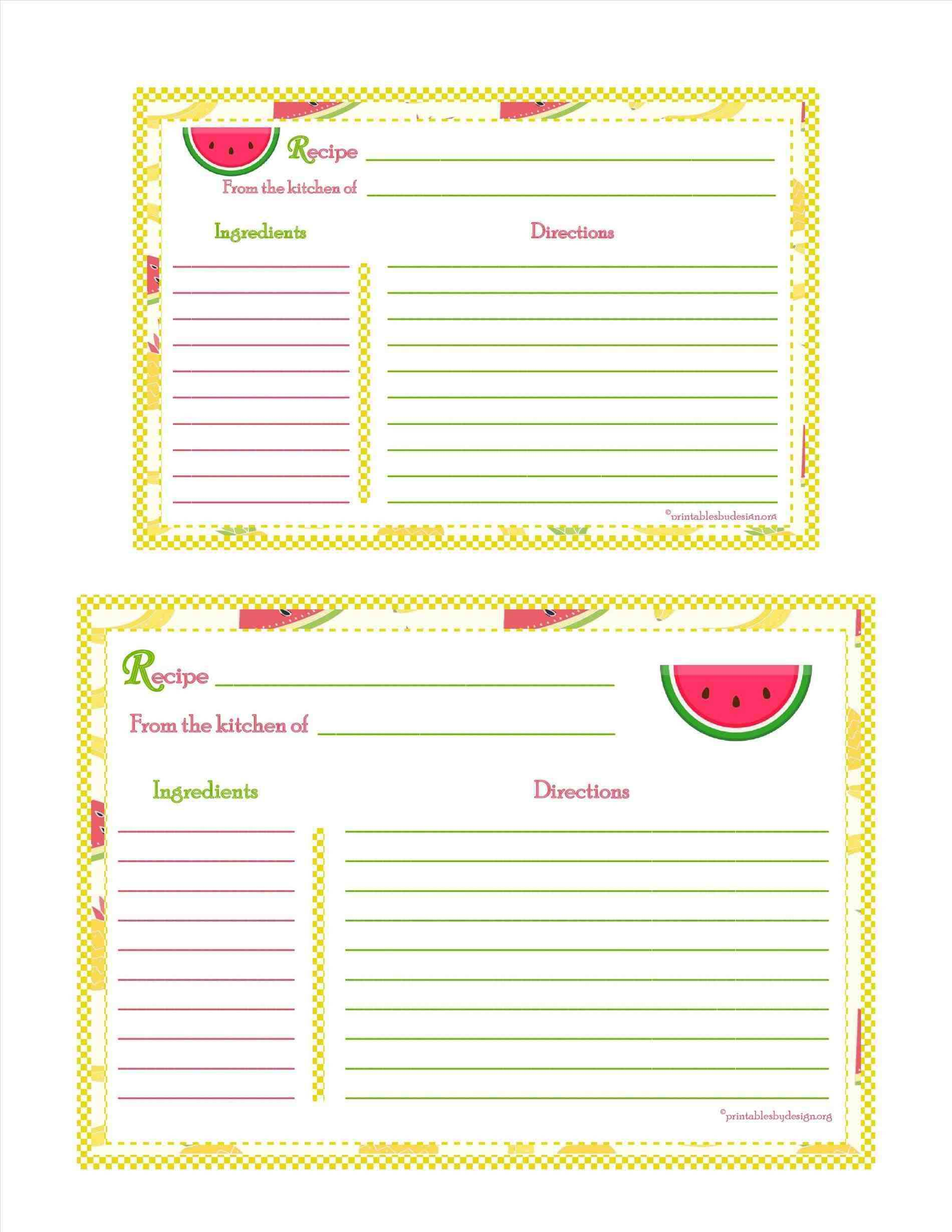 80 Adding Blank 3X5 Card Template Download with Blank 3X5 Card Template
