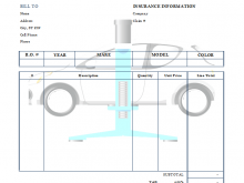 80 Adding Car Garage Invoice Template Download by Car Garage Invoice Template