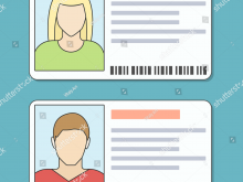 Student I Card Template