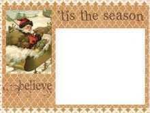 80 Adding Vintage Christmas Photo Card Templates Download for Vintage Christmas Photo Card Templates