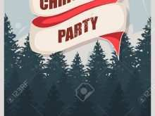 80 Best Christmas Party Flyer Template PSD File for Christmas Party Flyer Template