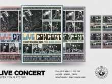 80 Blank Concert Flyer Template in Photoshop for Concert Flyer Template