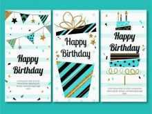 Large Birthday Card Template