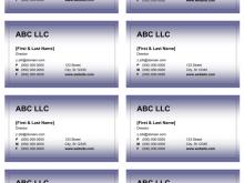 80 Create Business Card Templates Microsoft Word Photo by Business Card Templates Microsoft Word