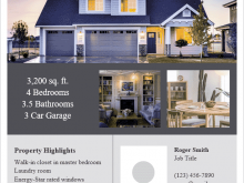 80 Creating Real Estate Flyer Templates Formating by Real Estate Flyer Templates