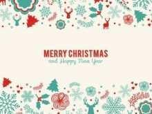 80 Creative Christmas Card Templates Illustrator in Photoshop by Christmas Card Templates Illustrator