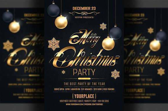 80 Creative Christmas Flyer Templates Formating for Christmas Flyer Templates