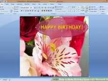 80 Customize Birthday Card Layout Microsoft Word Photo for Birthday Card Layout Microsoft Word