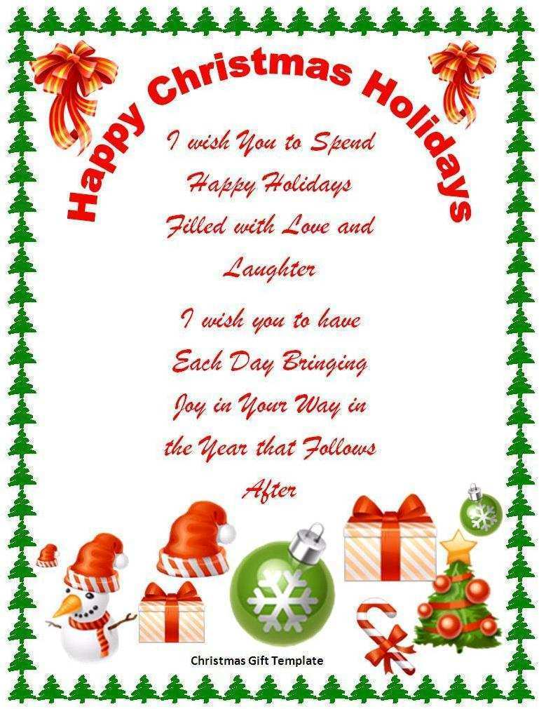 80 Customize Xmas Card Template Word in Word by Xmas Card Template Word