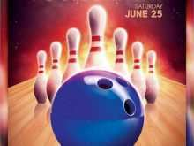 80 Free Bowling Flyer Template Free With Stunning Design with Bowling Flyer Template Free
