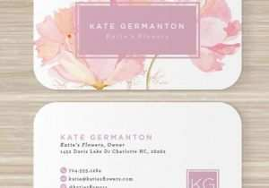 80 Free Floral Business Card Template Word Templates by Floral Business Card Template Word