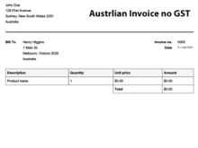 80 Free Gst Vat Invoice Template Now with Gst Vat Invoice Template