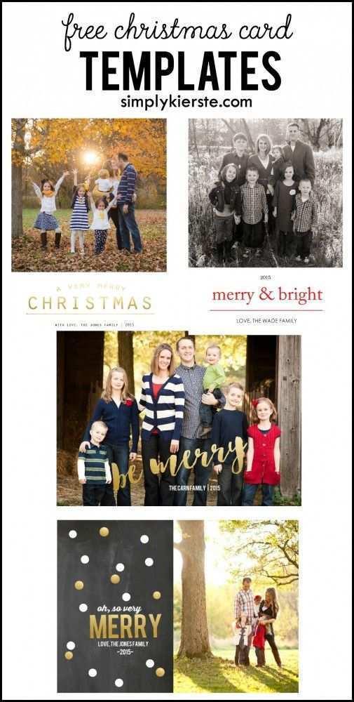 80 Free Printable Christmas Card Templates For Photographers Free Download by Christmas Card Templates For Photographers Free