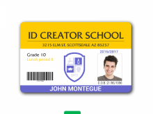 Employee Id Card Template Microsoft Word