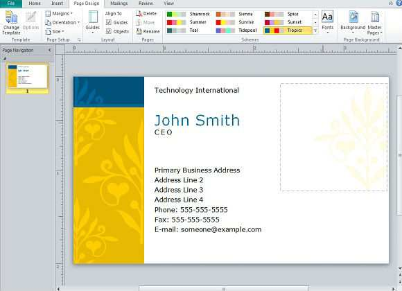 80 Name Card Template Ppt Layouts by Name Card Template Ppt