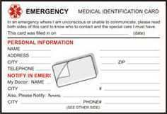 80 Online Emergency Id Card Template PSD File for Emergency Id Card Template