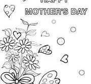 80 Online Mother S Day Card Templates Kindergarten Photo for Mother S Day Card Templates Kindergarten