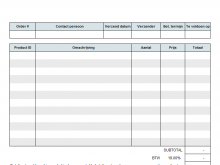 Tax Invoice Example Australia