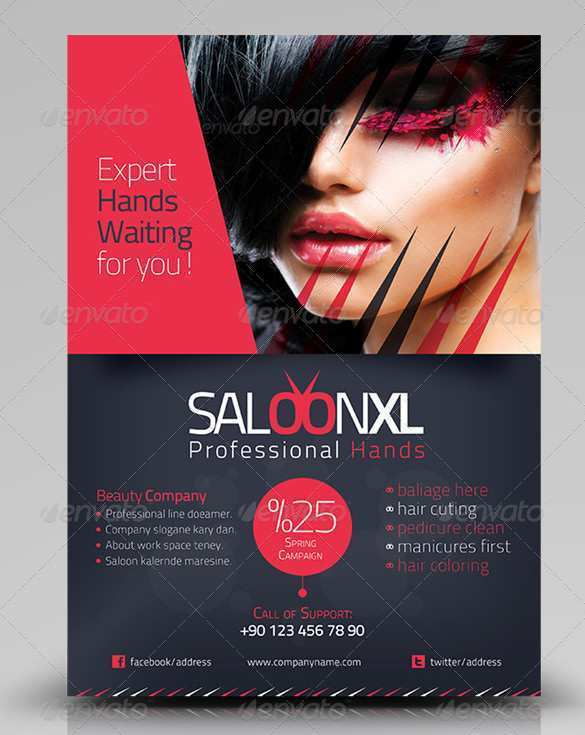 80 Report Beauty Salon Flyer Templates Free in Photoshop by Beauty Salon Flyer Templates Free